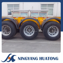 Low Bed Container Chassis LHL9401TJZ Skeleton Semi Trailer