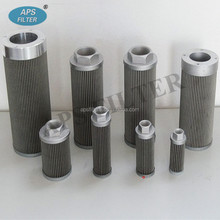 replacement Leemin hydraulic wire mesh WU-160*80 suction oil filter