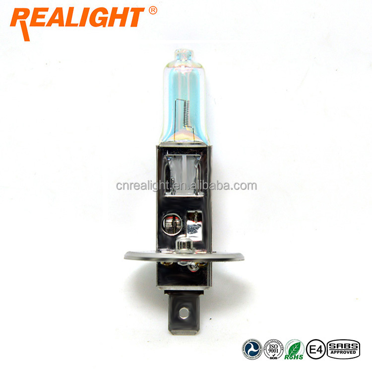UV Blocking High Low beam Rainbow Blue Auto Light Bulb H1