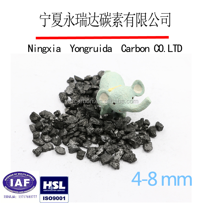 Good quality low moisture recarburizing agent/calcined anthracite price