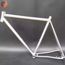 Customized ultralight Gr9 titanium road bike frame for sale