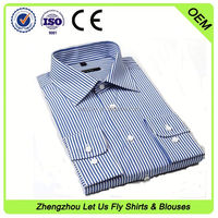 slim fit shirt ladies office shirt design for European market