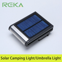 Outside Outdoor Waterproof LED Umbrella Light Solar Camping Light