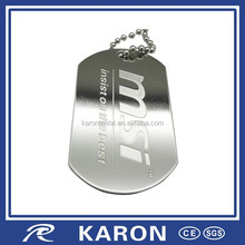 cheap quality custom stainless steel pendant with engraved logo