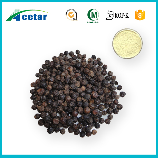 fresh and high quality Acetar company black pepper powder p.e