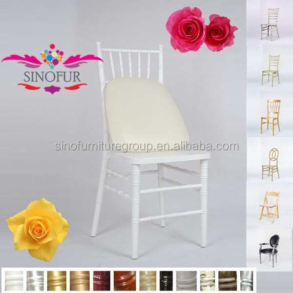 classical event hire resin chiavari chair