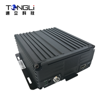 4CH Mobile DVR with 3G GPS for Bus monitoring and GPS tracking