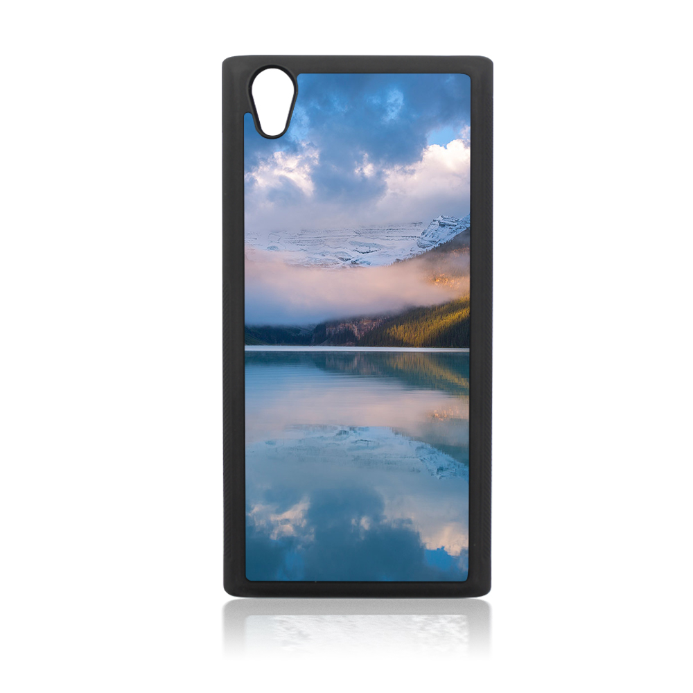 For Sony Xperia <strong>L1</strong> Sublimation Blank TPU Mobile <strong>Phone</strong> Cover Case With Metal Sheet