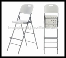 plastic folding high chair for party and rental, bar high table and chair, nightclub tables and chairs