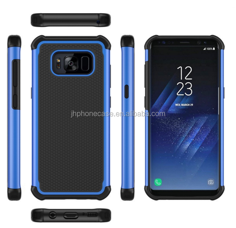 Heavy duty triple shield ballistic defender case for Galaxy S8 Plus 6inch