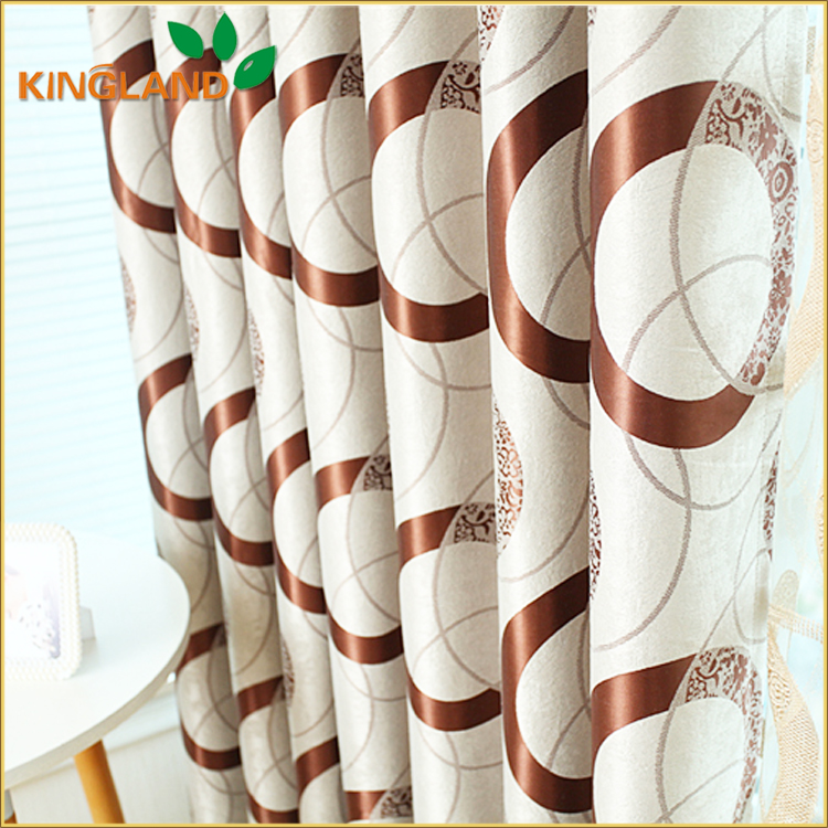 Free sample home textile supplier high-grade curtain and drapery