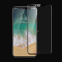 Newest For iPhone X 3D Curved Tempered Glass Screen Protector , Full Protect Phone Screen Guard For iPhone X