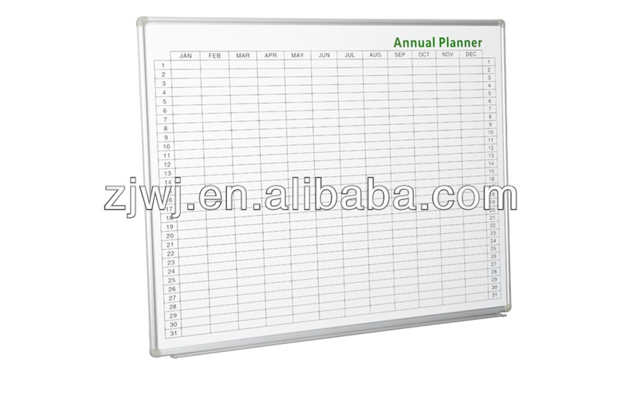 Weekly planner flexible magnetic whiteboard