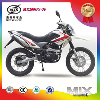 Hot sale 200cc dirt bike/motorcycle for young people