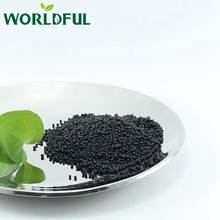 NPK - Nitrogen (N), Phosphorus (P), and Potassium (K) Organic Matter 35% Black Granular Compound Fertilizer