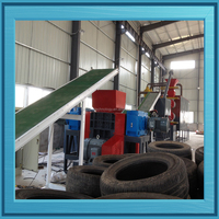 jiangxi jian Dingfeng Used OTR Tire Tube Recycling Machine
