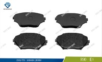Japanese car parts manufacturers brake pad D862 0446542130 23585