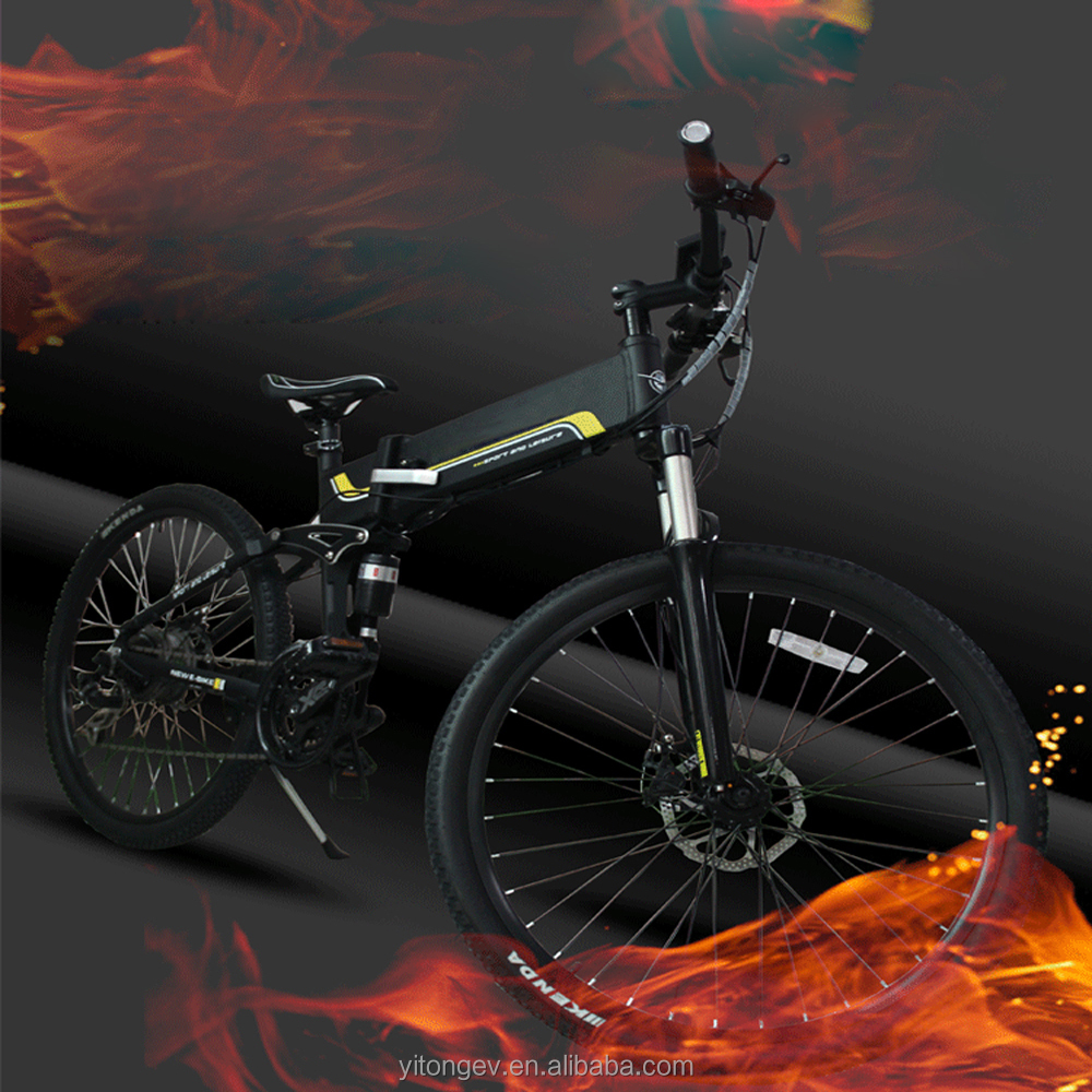 "36v Samsung Lithium Battery Mountain Foldable Electric <strong>Bike</strong> / 26"" Mountain e <strong>Bike</strong>"