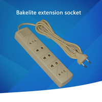 power extension strip 5 ways socket