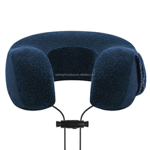 Hot sale memory foam car travel pillow