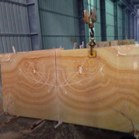 Chinese yellow onyx marble stone 2015 L 017#