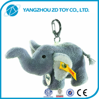 new style lovely fashionable soft custom keychain soft toys