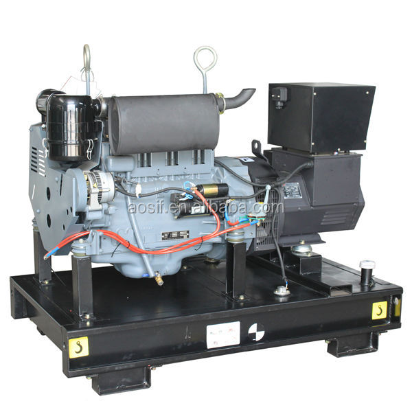 313kva fuel less generator with deutz engine