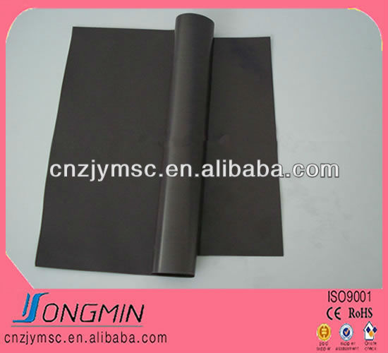 flexible soft magnetic rubber sheet