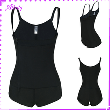 High Quality Black Adjustable zipper slim body shaper suit for women