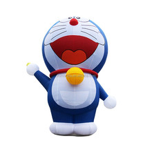 High quality advertising cartoon, Doraemon themed inflatable cartoon character for sale