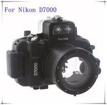 MCOPLUS Waterproof Underwater Housing Camera Case Cover for Nikon D7000 Waterproof up to 40m/130ft