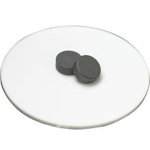 Rutile form titanium dioxide tablet for glasses coating