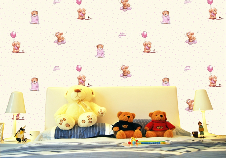 No Pollution/Cheap Price Durable Interior 3D kids room Wallpaper