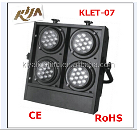 led backlight stage lighting, high quality professional led four eyes audience light