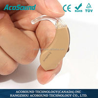 New Design Oem Aid AcoSound Acomate 610 BTE Personal Sound Amplifier hearing aid China CE Hearing Instruments