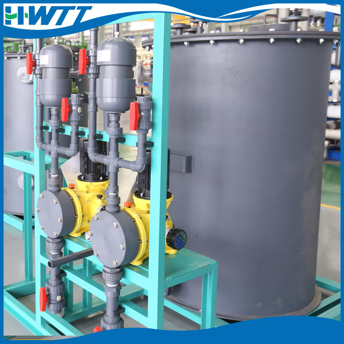 RO plant for seawater desalination in EPI