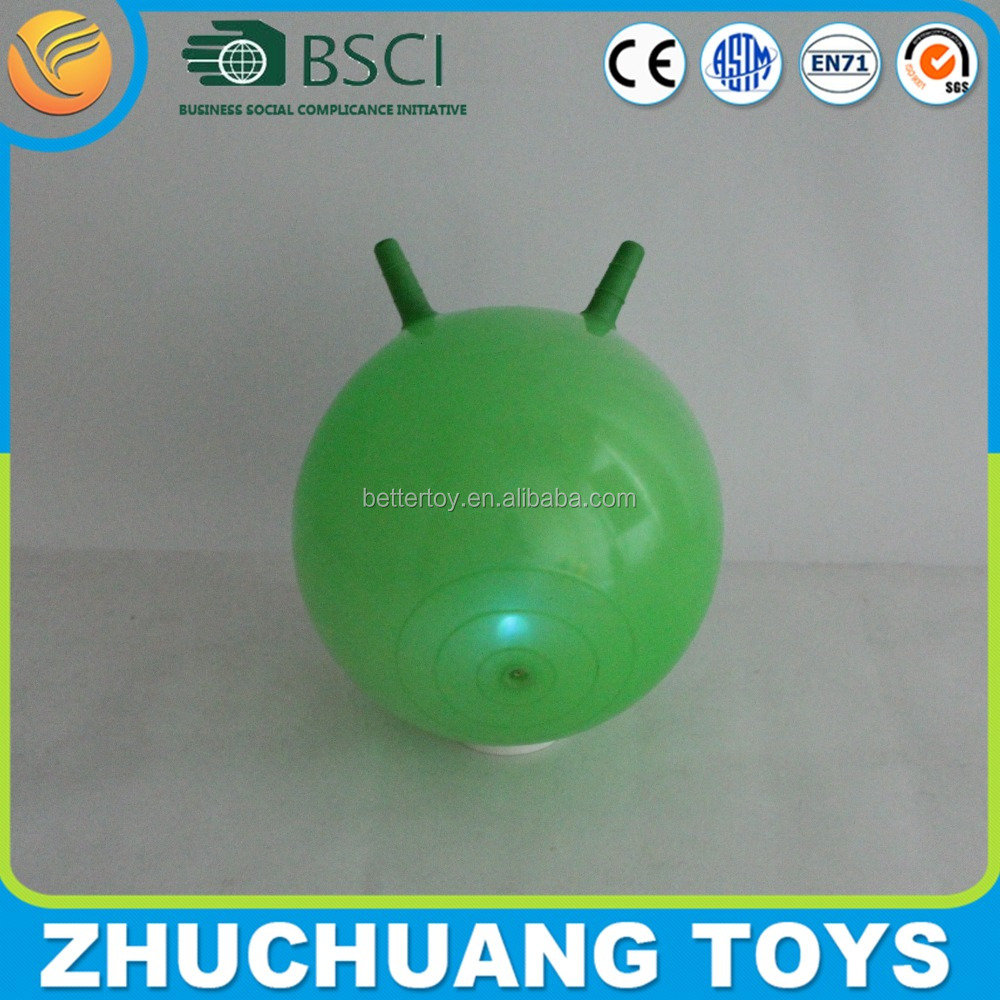 small hopper flashing light ball toy for kids