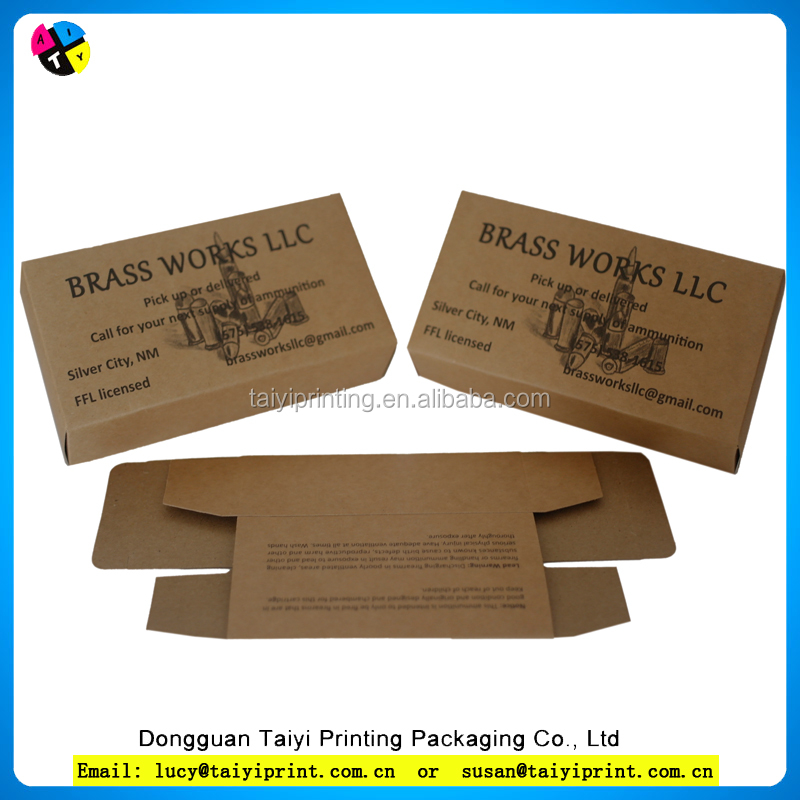 cardboard medicine paper box Customized printed