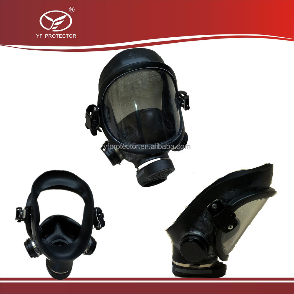 Safety and military anti riot helmet with gas mask