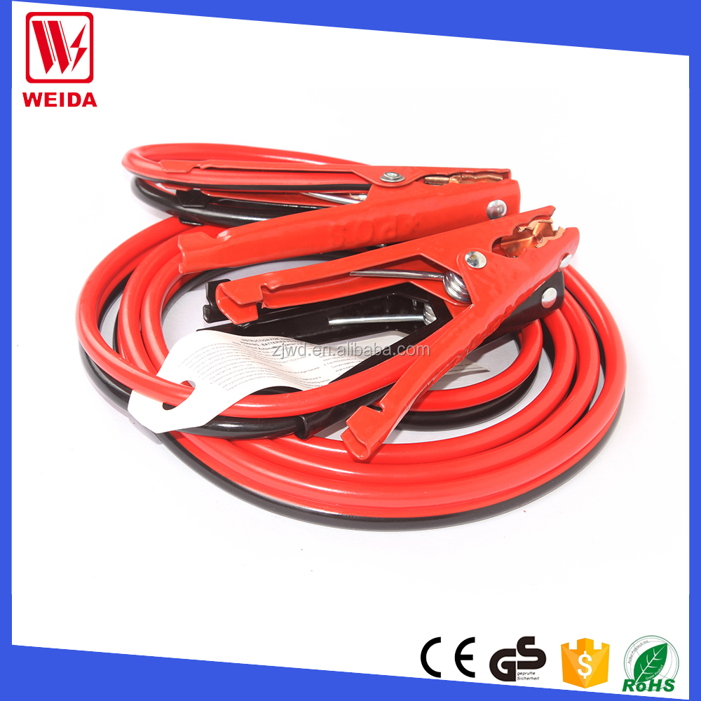 Car Emergency Jump Starter Intelligent Alligator Clip Battery Booster Clamp Cable
