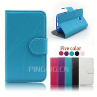 Wholesale Irregular stripe PU Leather Mobile Phone Case for Huawei Honor 7 Mini Protective Case