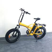 36V 350W fat foldable snow electric bike with high quality(RSD-507)