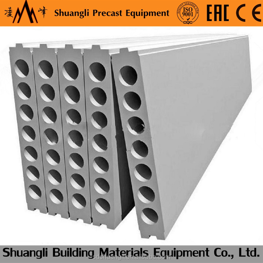 Hollow core Concrete lightweight partition board machine/ wall panel machinery/ precast concrete elements and systems