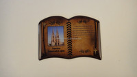 religious christian theme magnetic picture frame