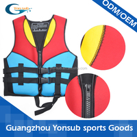 Neoprene life jacket/life vest/swimming jacket