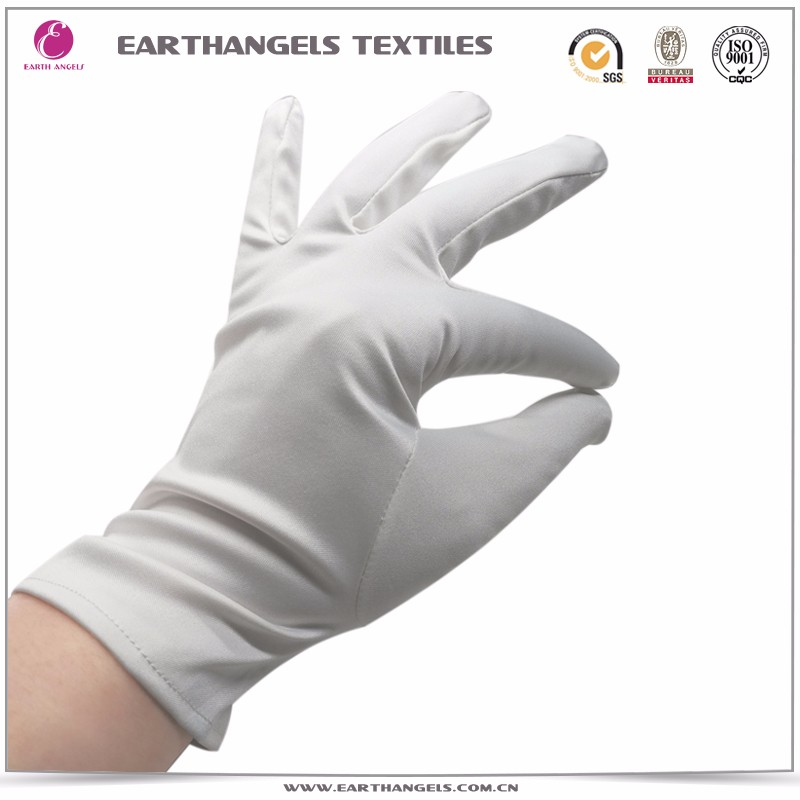 white microfiber cleaning gloves, jewellery polishing gloves