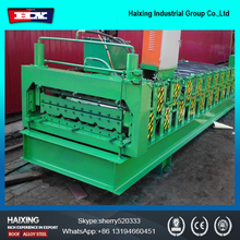 Corrugated Roll forming Machine with hydraulic cutter