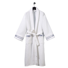 High Quality Unisex 100% Cotton Waffle Bathrobe for Hotel and Home Use