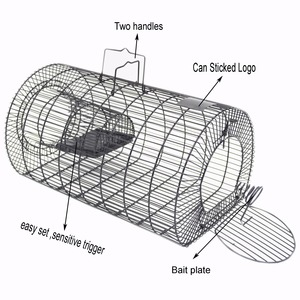 Rat Trap - Small Animal Humane Live Cage Catches Rats, Mice, Hamsters, Chipmunks and Other Small Rodents