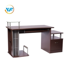 Vintage Design Chocolate color Wooden Computer Table